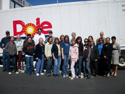 MedShare's Western Region team with the container before it left for Ecuador