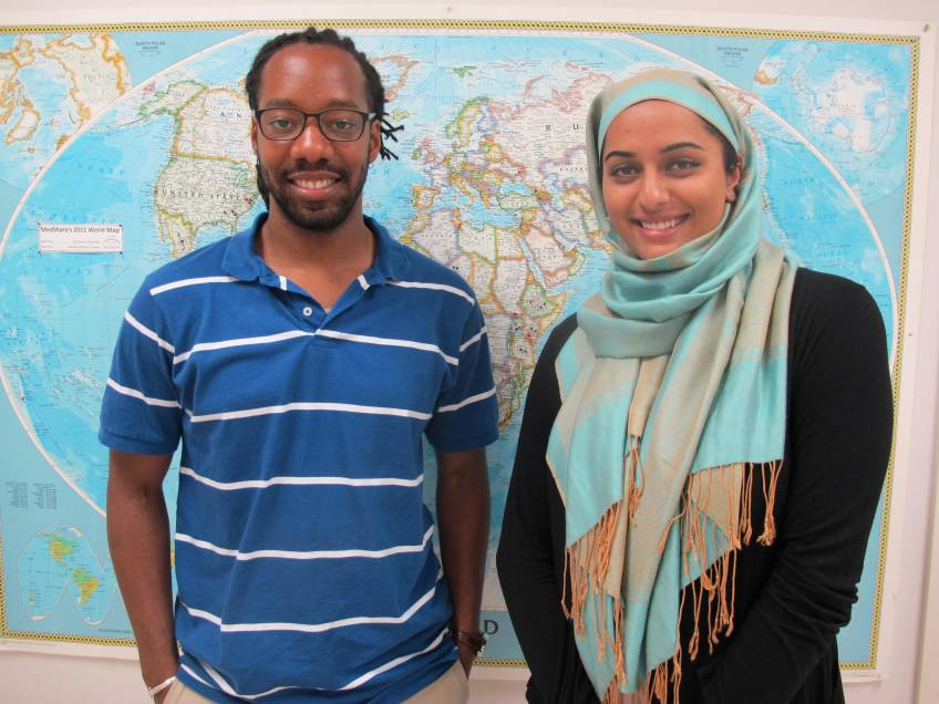 Clint and Sana, MedShare's Faiths Act Fellows