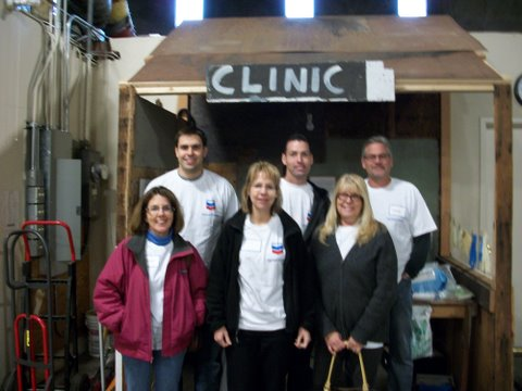 On Dec. 13, 2011, this Chevron group sorted IV supplies and packed 35 boxes.