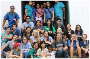 San Jose State University students serving in Honduras