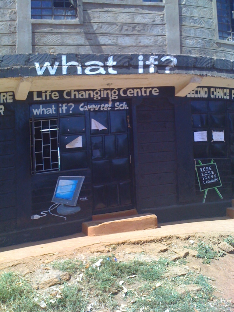 """What If"" signage in Kenya"