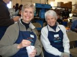 Sue and Marsha – two of our great volunteers!