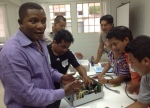Eben provides training at Hospitalito Atitlan