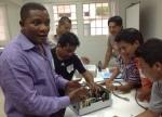 Eben provides training at Hospitalito Atitlan