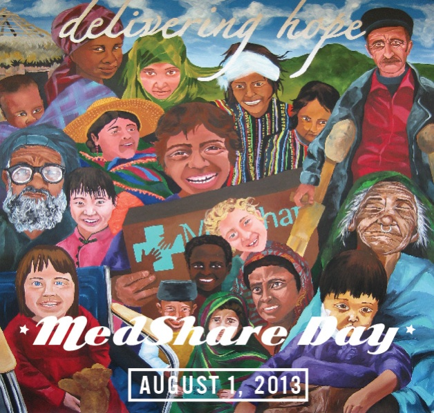 Celebrate MedShare Day on August 1!