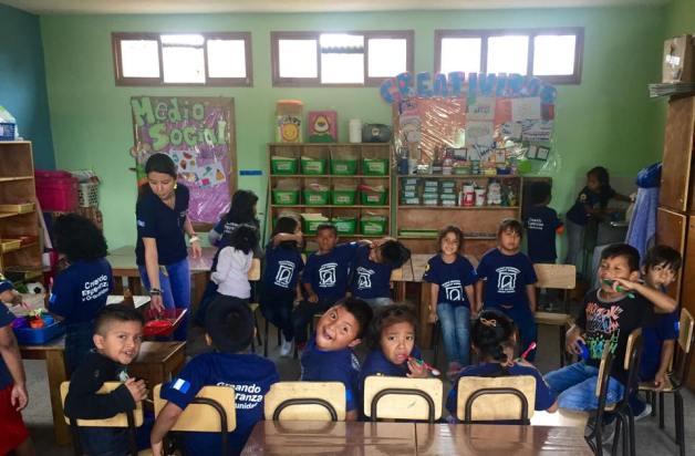 Guatemala Trip Camino Seguro students